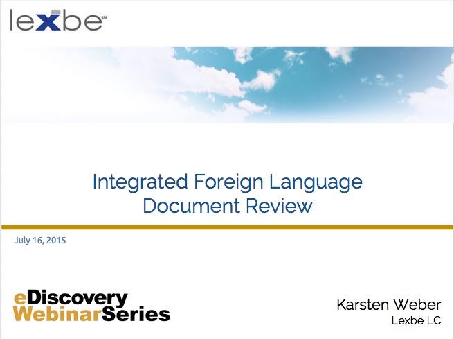 Foreign Language Review